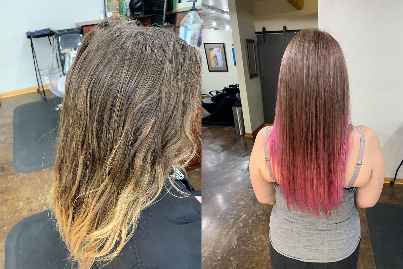Women's Cut, Color, Highlight
